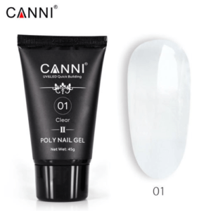 CANNI Poly Nail Gel 01 Clear 45g