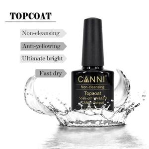 CANNI Top Coat No Wipe 7.3ml
