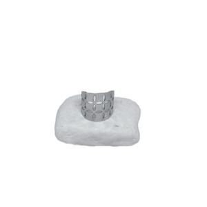 Ατσάλινο Δαχτυλίδι Ασημί