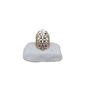 Ατσάλινο Δαχτυλίδι Χρυσό