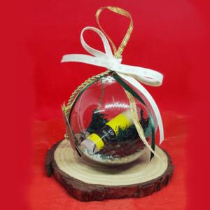 Lip Balm Μπανάνα Χριστουγεννιάτικη Μπάλα