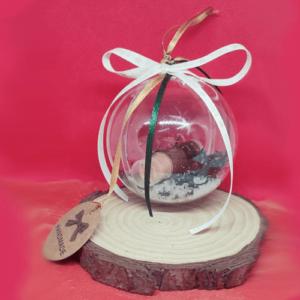 Lip Balm Σοκολάτα Χριστουγεννιάτικη Μπάλα