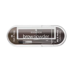 Essence Brow Powder Set 02 Dark & Deep 2,3g