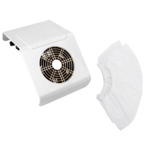 Απορροφητήρας σκόνης νυχιών λευκός 40W
