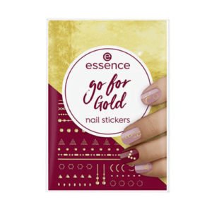 Essence Go For Gold Nail Stickers 74pcs